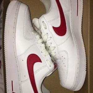 White&Red Af1 (Lows)